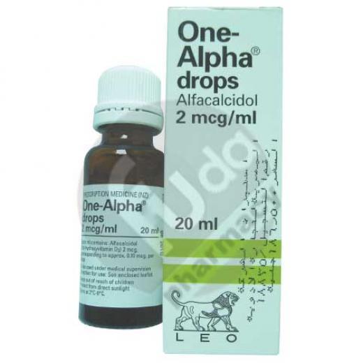 One Alpha 2 Mcg Ml 20 Ml Oral Drop Beta Fouda Pharmacy
